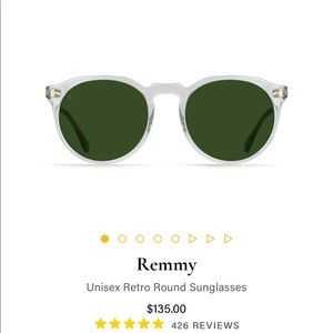 Raen Remmy Sunglasses bottle green lense / clear